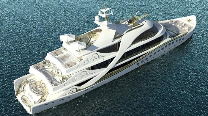 Гламурная яхта для женщин