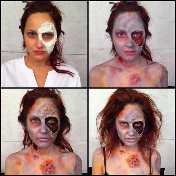 Мастер макияжа для порноактрис (18 фото)