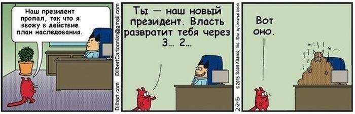 Забавные комиксы 04.02.2015 (20 картинок)