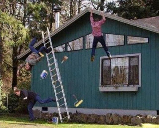 Мгновение до катастрофы (35 фото)