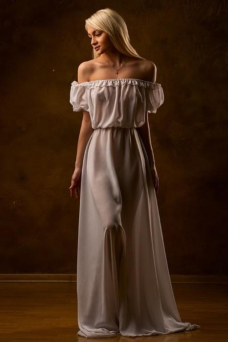Фото девушек в лёгких платьях