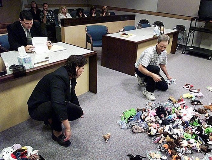 Раздел имущества в зале суда