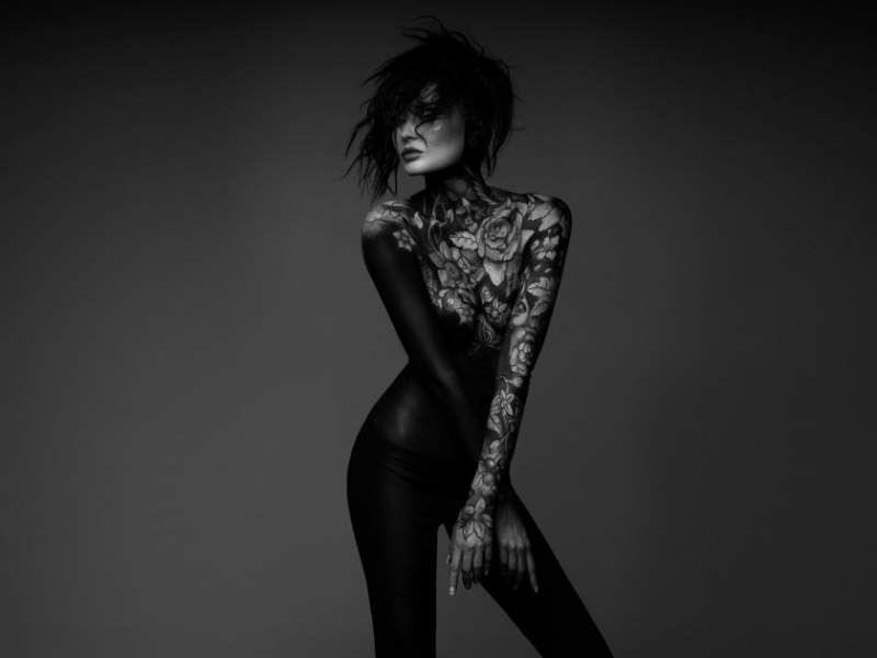 Классные черно-белые фотографии (21 фото)