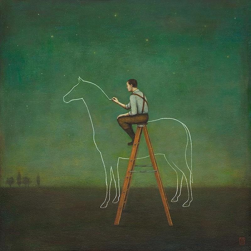Немного сказочных картин от Дуй Гуна (9 картин)