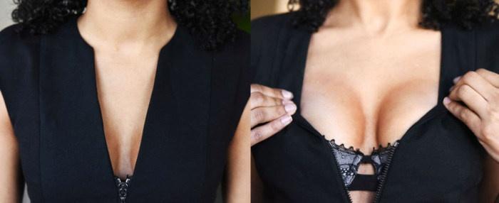 Еще один способ увеличения груди (17 фото и гифок)