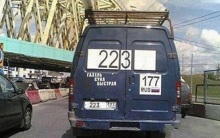 Прикольные надписи на авто (28 фото)