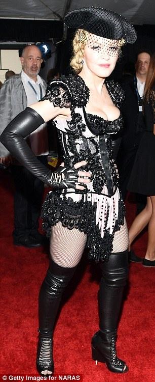 Мадонна на церемонии вручения Грэмми