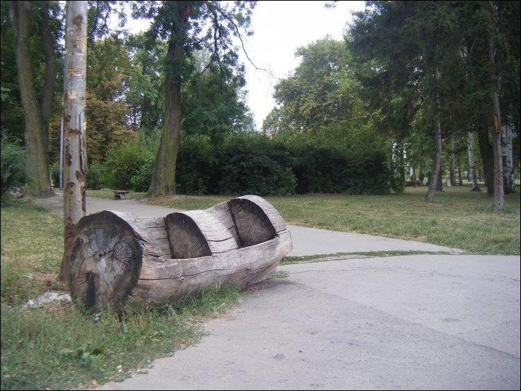 Подборка фото прикольных скамеек (30 фотографий)