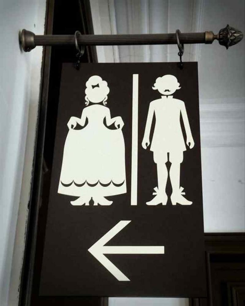 Прикольные WC-таблички (20 фото)