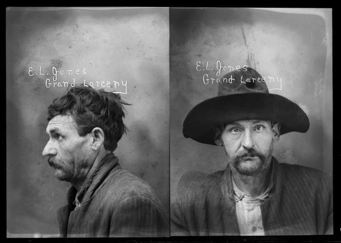 Очень старые фотографии преступников (23 фото)