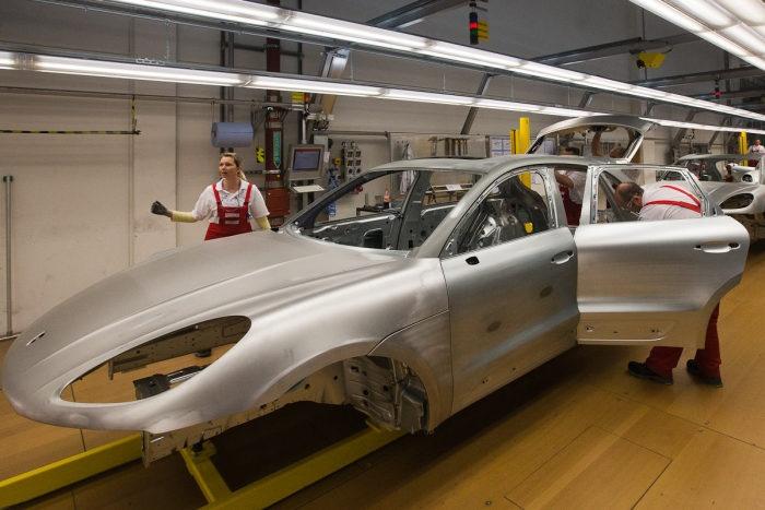Как производят Porsche (45 фото)