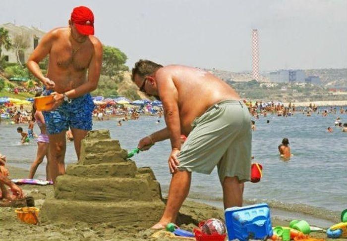 Подборка пляжных фотографий