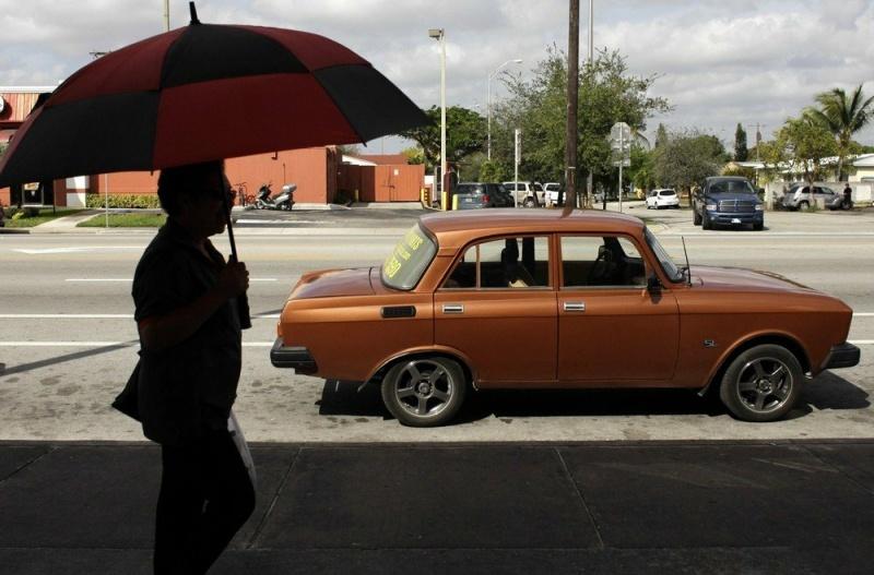 Москвич в Гаване (22 фото)