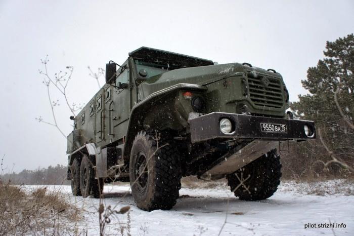 Новыый Урал для военных