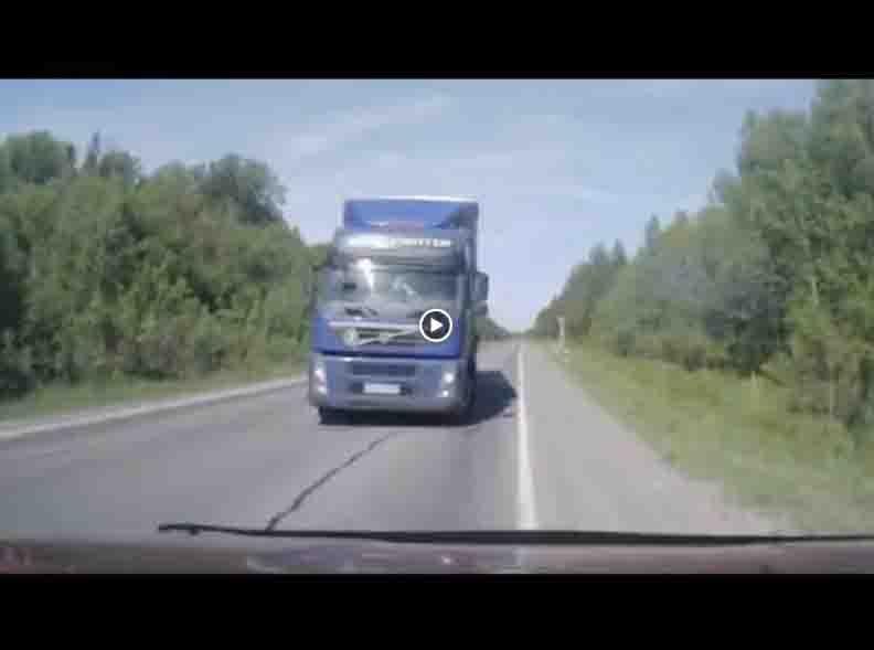 Видеоподборка ДТП с заснувшими водителями
