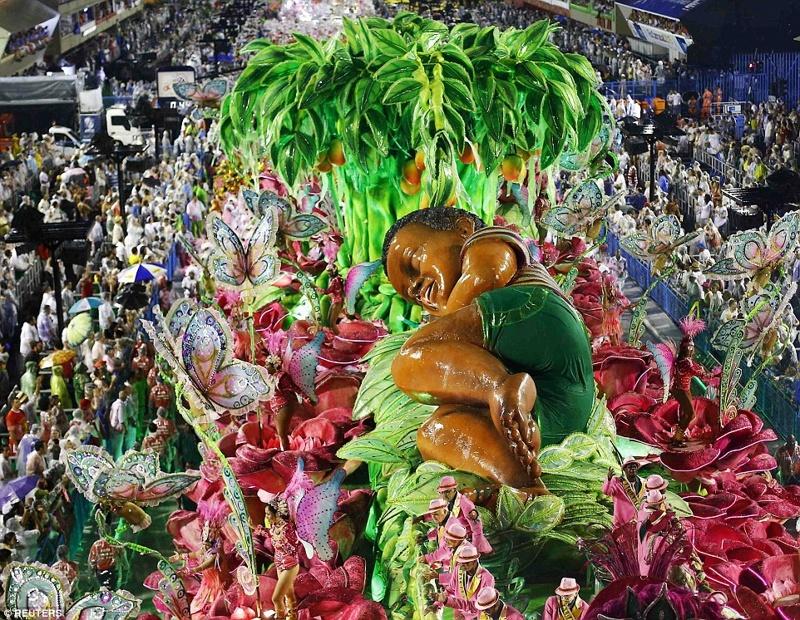 Красивые фото карнавала в Рио (39 фото)