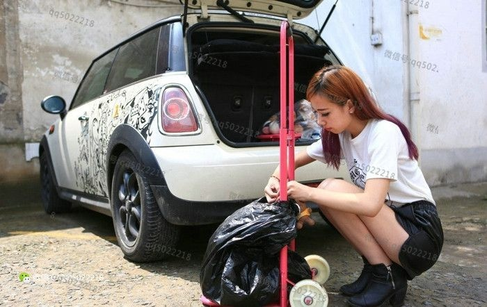 Машины уличных торговцев в Китае (36 фото)