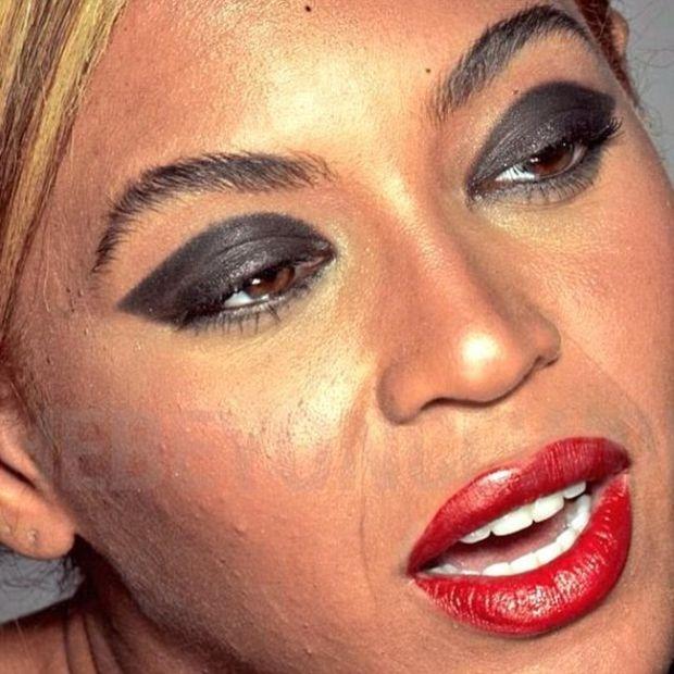 В интернет выложили неотретушированные фото Бейонсе (6 фото)