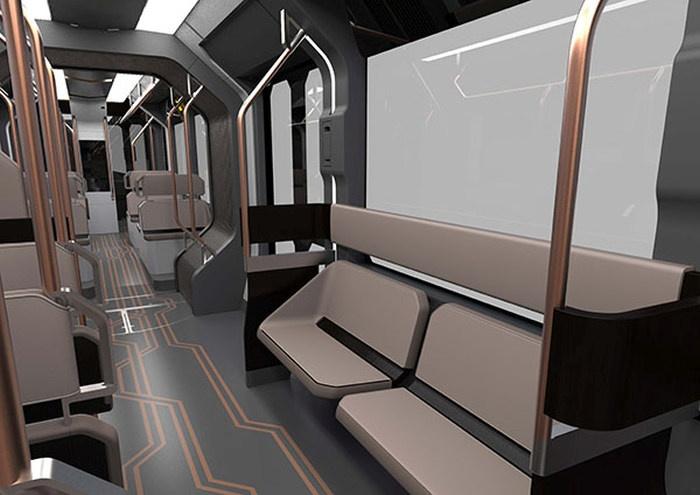 Изображения нового трамвая от Уралвагонзавода