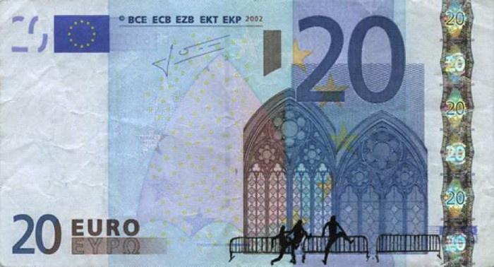 Рисунки греческого художника на банкнотах (27 картинок)