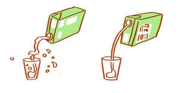 Как правильно открывать упаковки продуктов (10 фото+1 гифка)