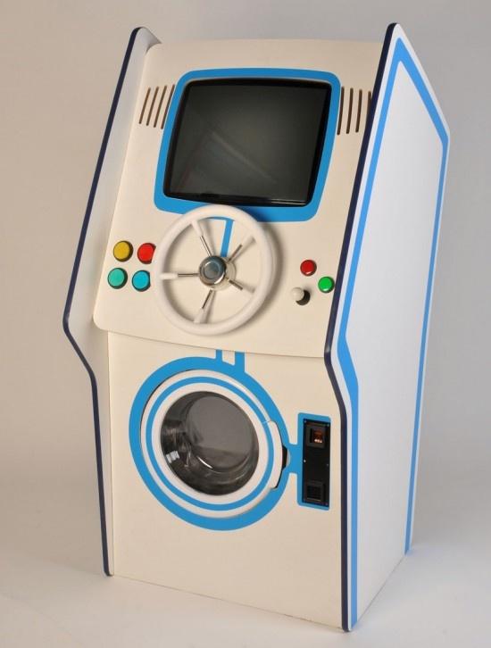 Стиральная машина для истинного геймера (3 фото)