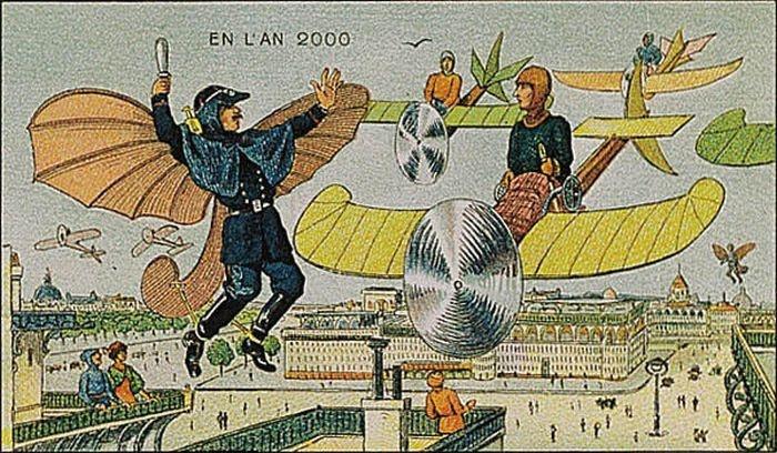 Как представляли будущее в 1900 году (23 фото)