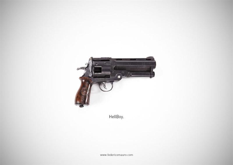 Оружие голливудских героев (45 фото)