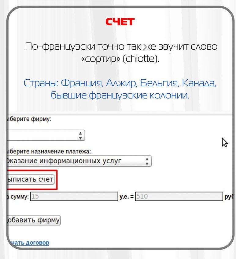 Слова на русском языке, похожие на ругательства в других странах