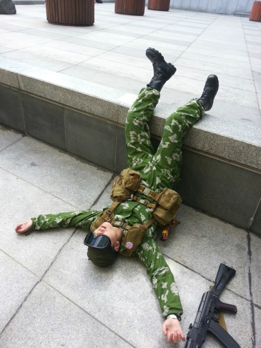 Косплей в русской военной форме (25 фото)