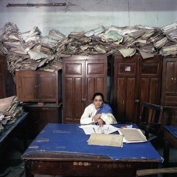 Фото обычных индийских офисов