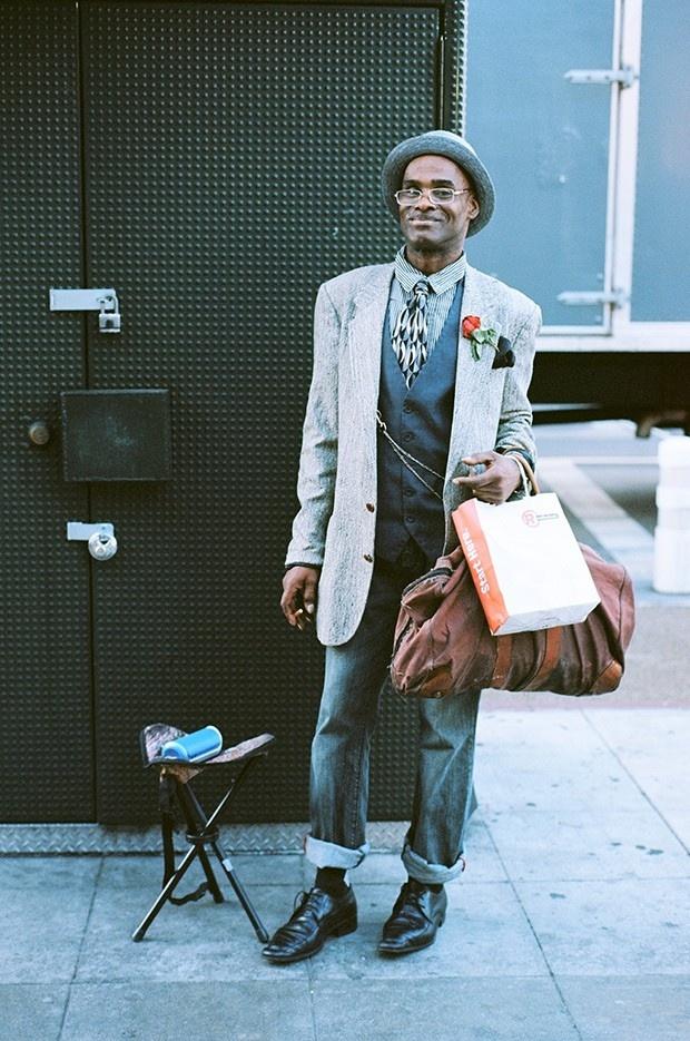 Уличная мода опасного района Лос-Анджелеса