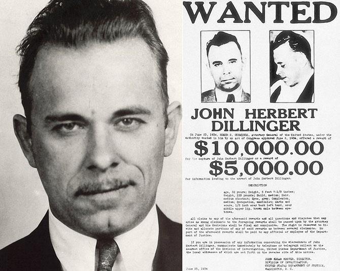Самые известные американские грабители