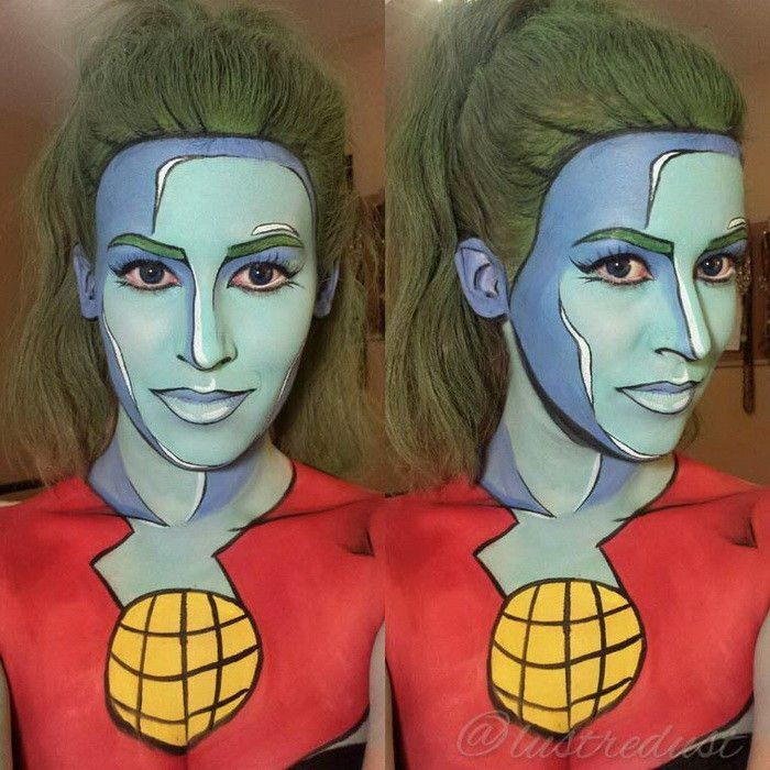 Как стать героем комиксов с помощью макияжа