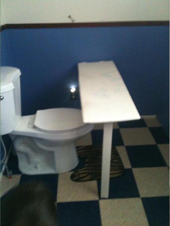 Неплохая идея для туалета