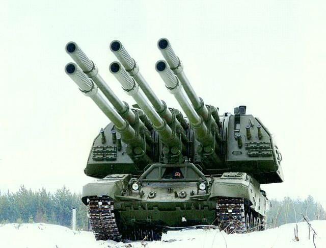 """Тяжелое вооружение - 2С7 """"Пион"""""""