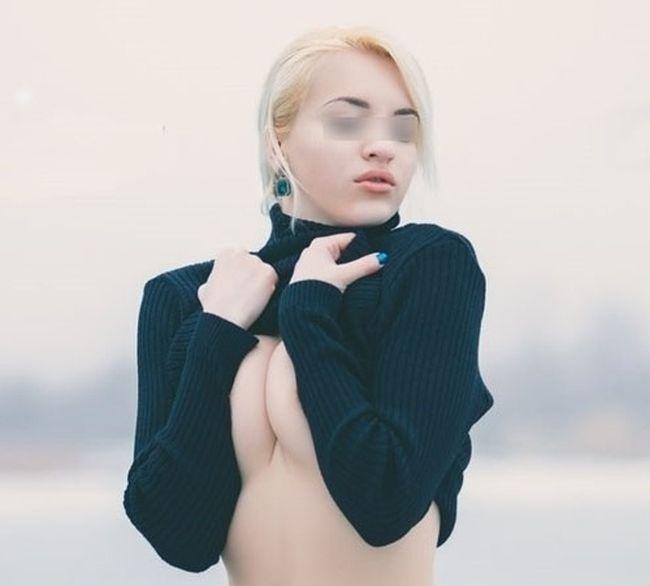 Смелая девушка из Волгодонска (7 фото)