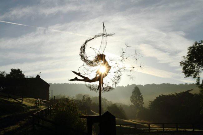 Креативные скульптуры (20 фото)