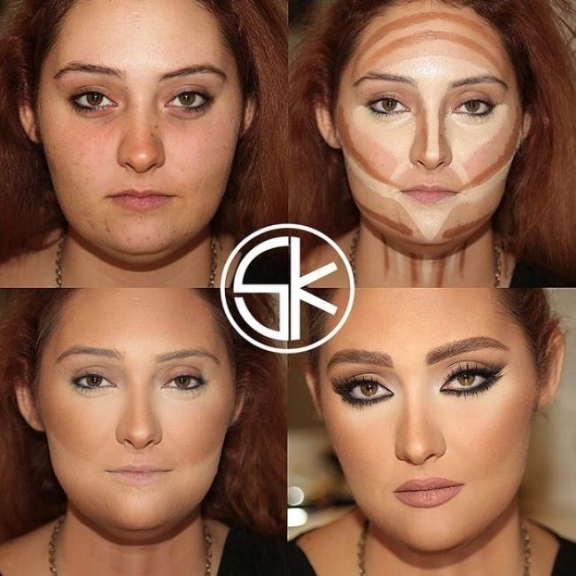 Волшебство макияжа (10 фото)