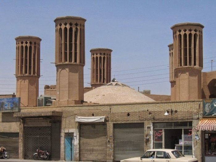 Интересное инженерное решение в зданиях Ближнего Востока