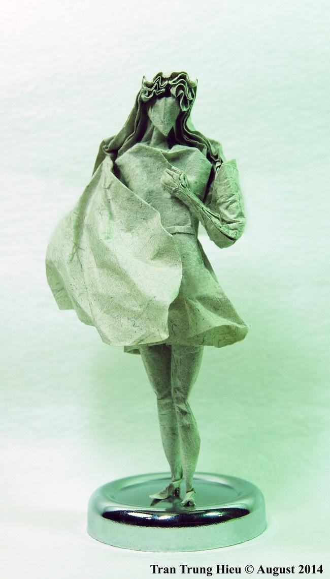 Классные фигурки из бумаги (10 фото)