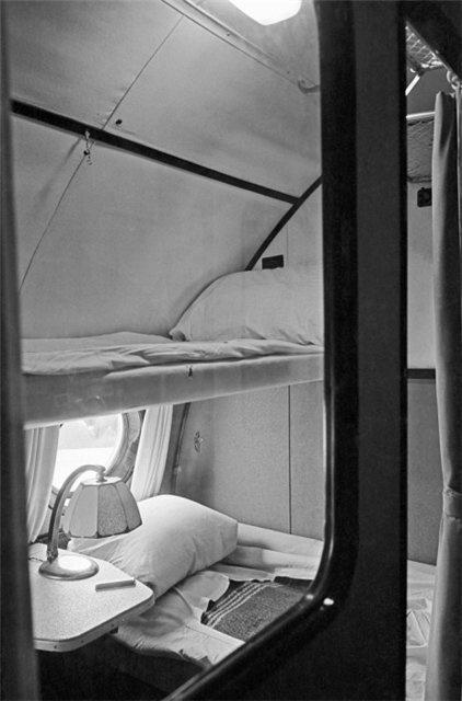 Места для пассажиров первого класса в самолетах советского Аэрофлота