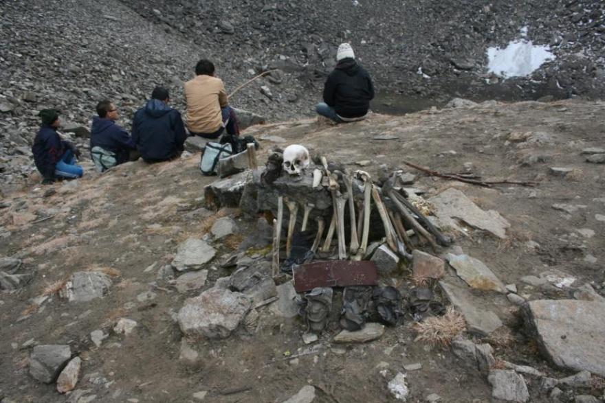 Гималайское озеро скелетов