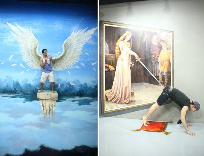 3D-картины филиппинского музея