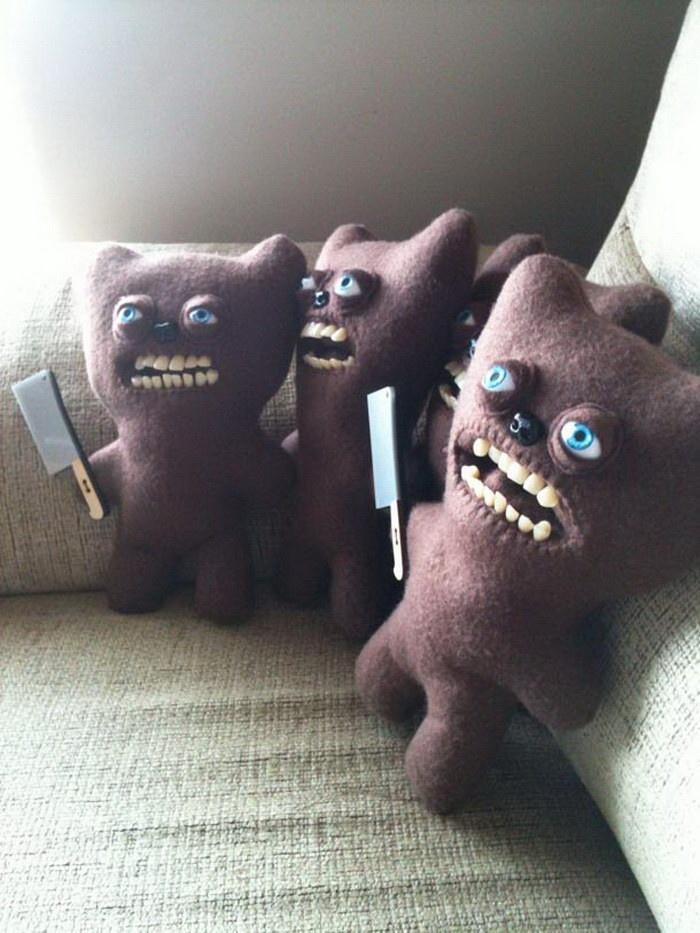 Прикольные плюшевые игрушки (20 фото)