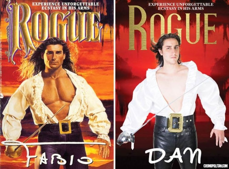 Обычные люди на обложках любовных романов (11 фото)