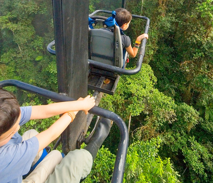 Аттракцион на высоте 60 метров (6 фото)