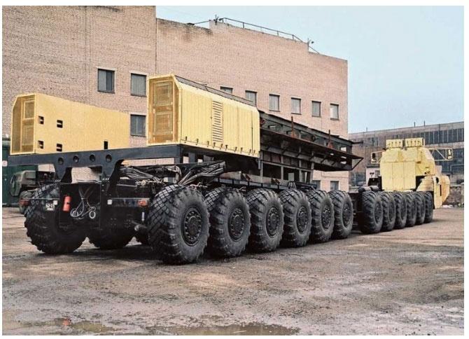 24-колесный МАЗ-7907