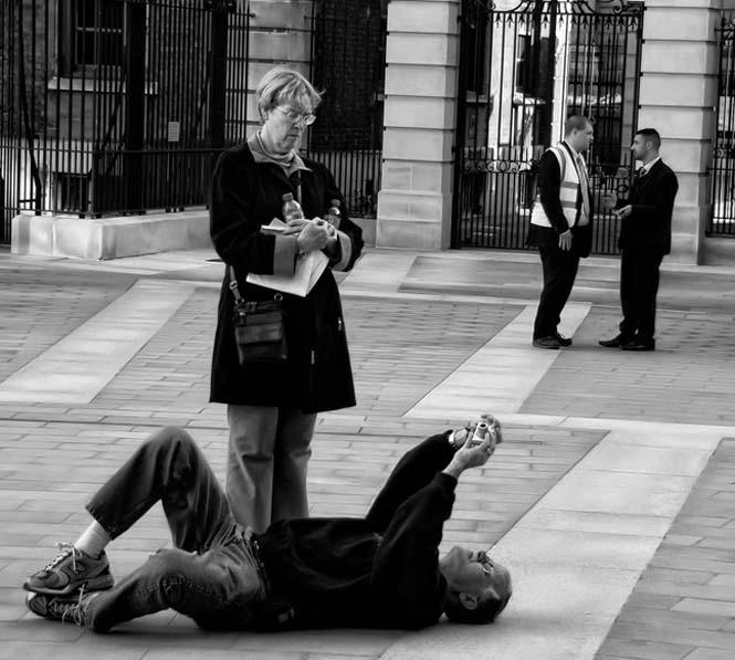 Фотографии фотографов в момент фотографирования (22 фото)