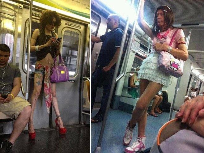 Подборка фотографий фриков-модников (22 фото)
